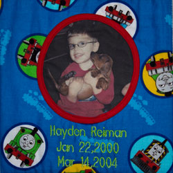 Organ and Tissue Donation, Donor Memorial Quilt (Midwest Transplant Network, Kansas and Missouri)