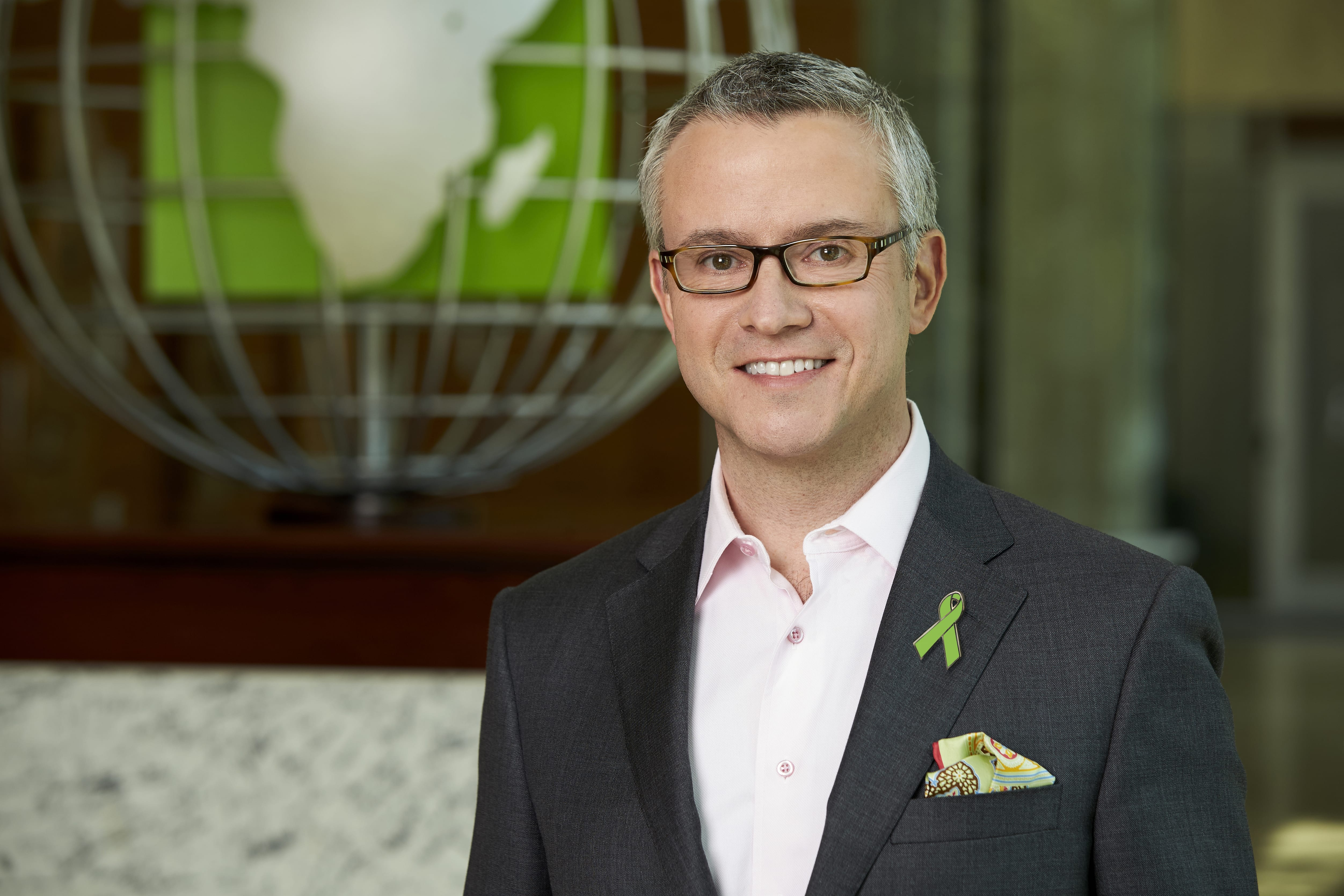 Photo of Jeff Jones, President & CEO of H&Block and Green Ribbon Champion