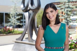 Photo of Sophia Dominguez-Heithoff, Green Ribbon Champion