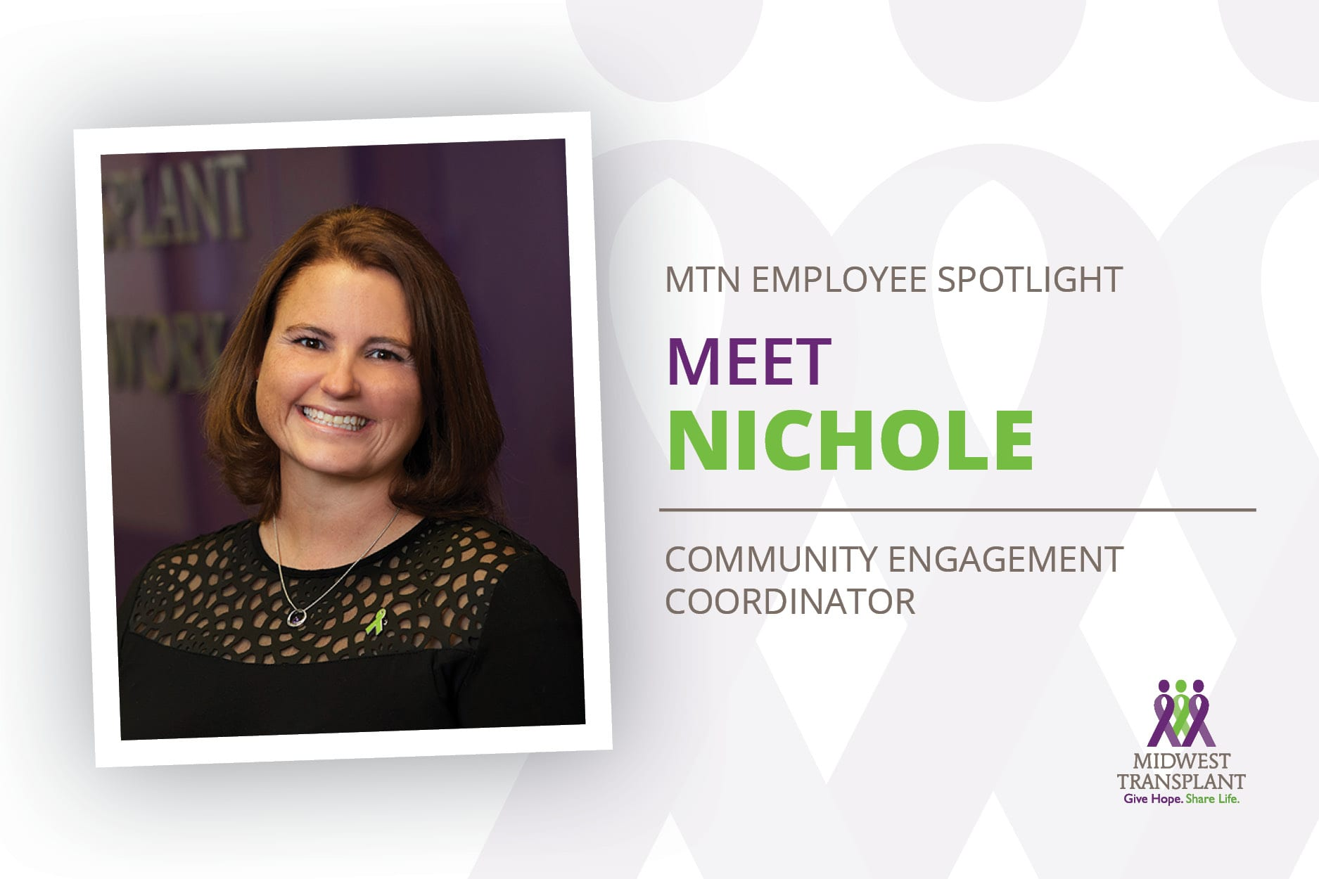 Employee spotlight graphic