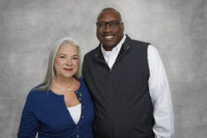 Portrait of Alonzo and Colleen Jamison