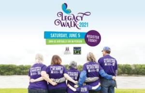 Donate Life Legacy Walk 2021