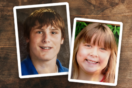 Portrait images of Matthew and Brandi.